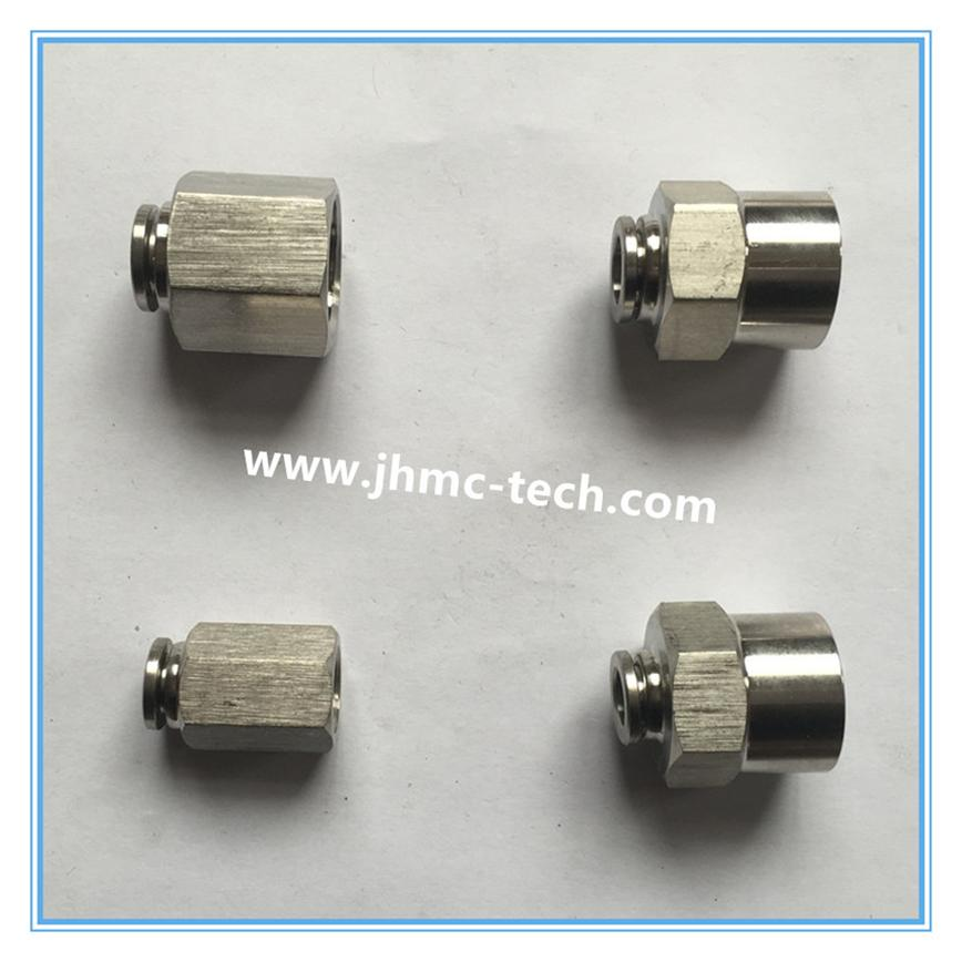 Stainless Steel straight female pneumatic fittings-2